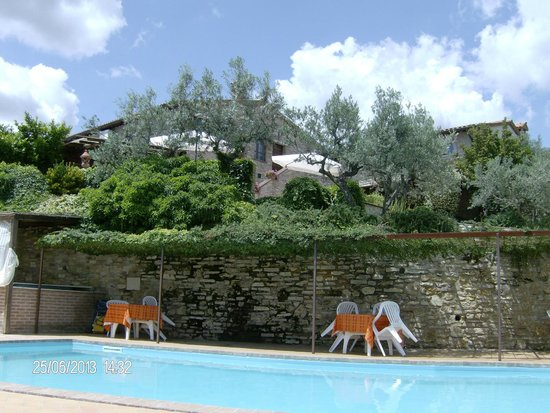 Agriturismo La Casella : particolare della piscina