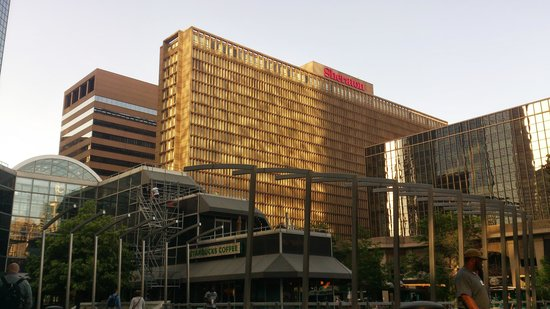 Sheraton Denver Downtown Hotel: Sicht von der Mall