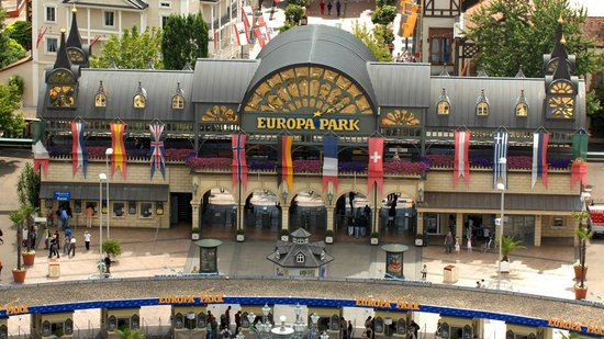 Rust, Germany: Europa-Park Haupteingang