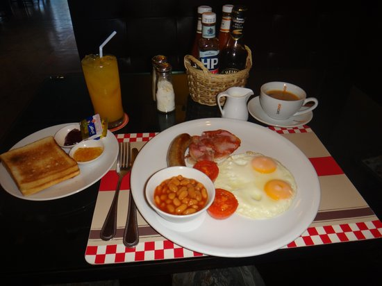 The Yorkshire Inn Hotel, Bar & Restaurant: English Breakfast