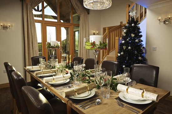 Hillfield Village: Court Lodge at Christmas
