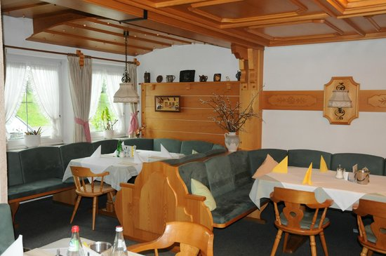 Alpenhof Hotel: Frühstücksraum