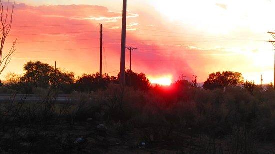 The Santa Fe Suites: sunset