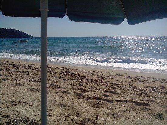 Playa Pampelonne: Belles vagues !