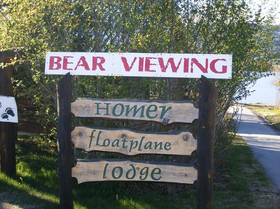 Homer Floatplane Lodge : Hopefully next time!!
