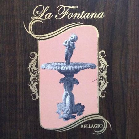 La Fontana Bellagio : Foto fronte menù