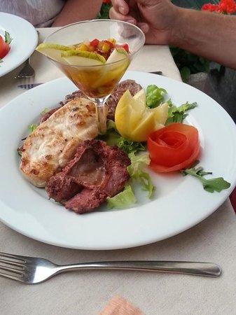 La Fontana Bellagio : Grigliata di carne