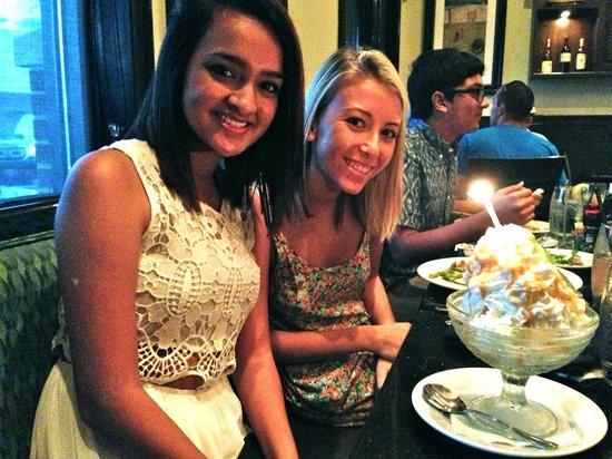Malibu Beach Grill : Birthday dinner!
