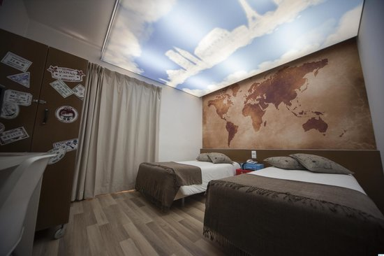 Hotel Made Inn: Themed room - Around the world