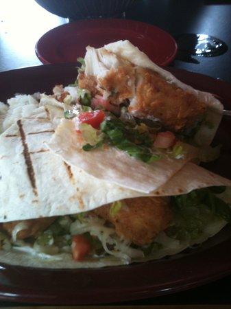Spats Cafe & Speakeasy: Spats' Fabulous Mahi Mahi Tacos