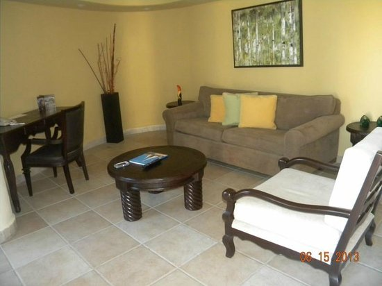 Cabo Villas Beach Resort: View of our living area