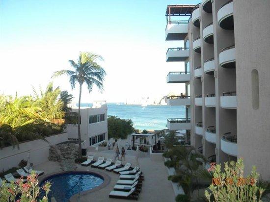Cabo Villas Beach Resort: View from our veranda