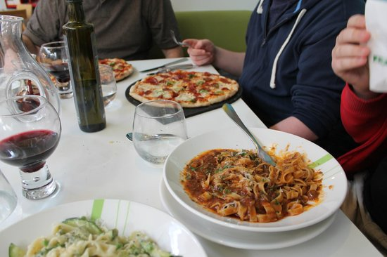 ASK Italian - London - Spring Street: Our first night in London