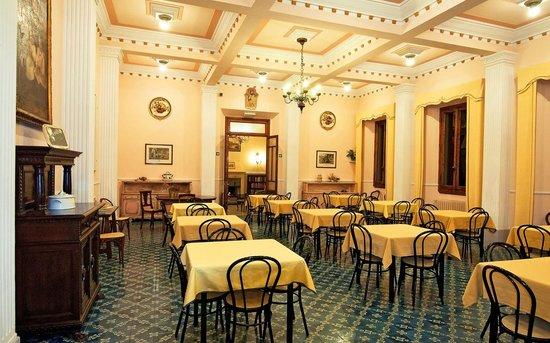 Giotto Park Hotel: Sala colazioni e ristorante