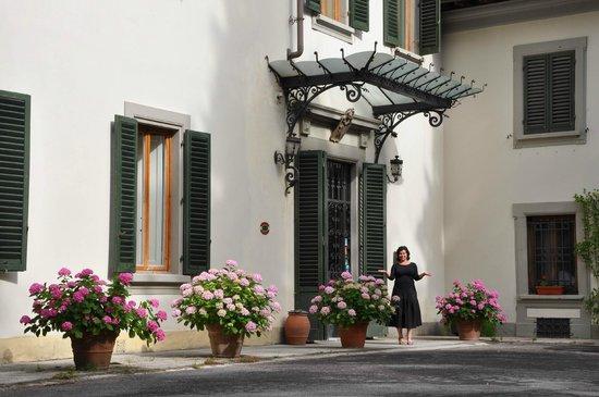 Giotto Park Hotel: Ingresso principale edificio principale