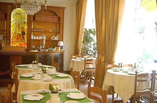 Balzac Hotel : área do café da manhã
