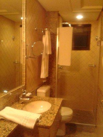 Allia Gran Hotel Brasilia Suites: Banheiro do quarto