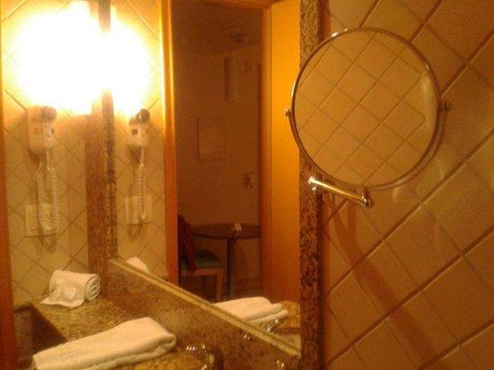 Allia Gran Hotel Brasilia Suites: Espelho retrátil no banheiro