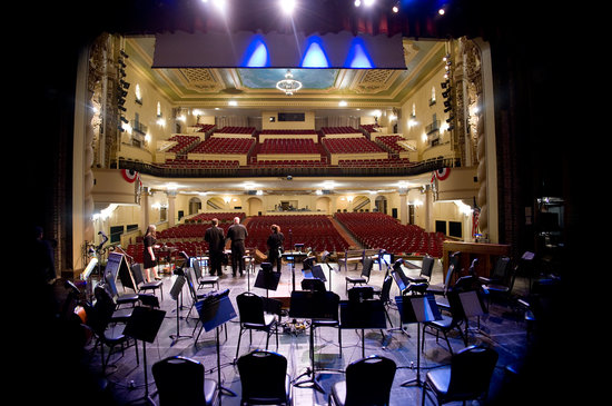 Saenger Theatre: View of the seating from the Saenger stage