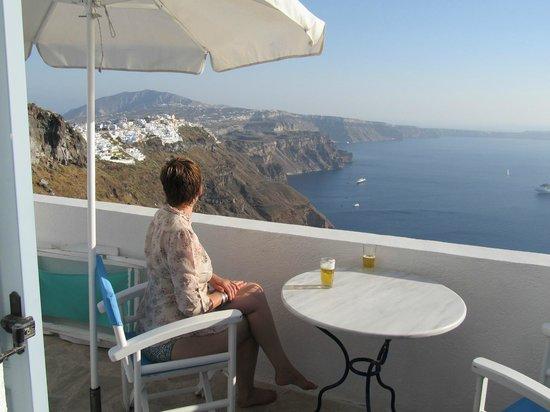 Irini's Villas Resort: Balcony