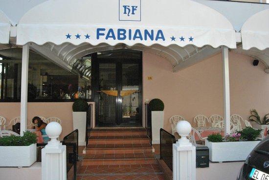 Hotel Fabiana: ingresso