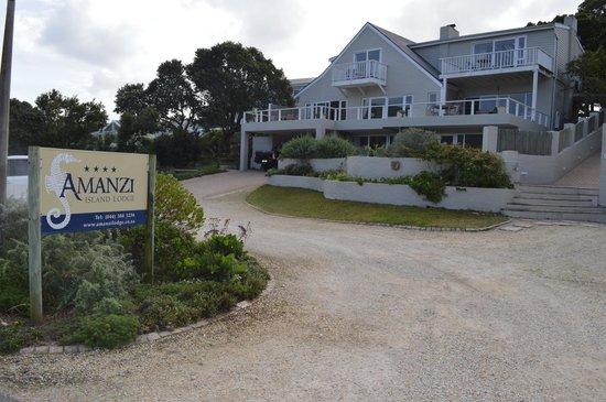 Amanzi Island Lodge : Amanzi Lodge