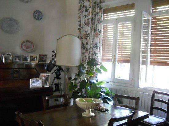 B&B al Santo: Dining room