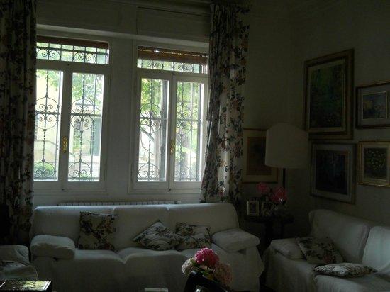 B&B al Santo: Living room