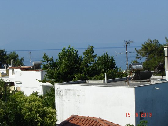 Sirines Hotel: View from room 303