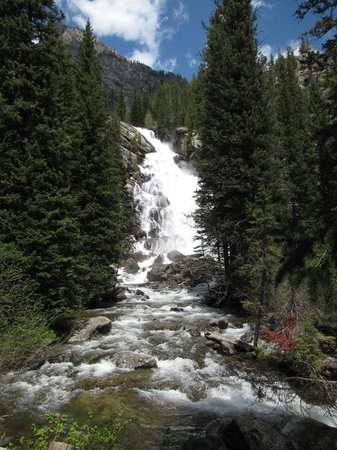 Wyoming: Hidden Falls
