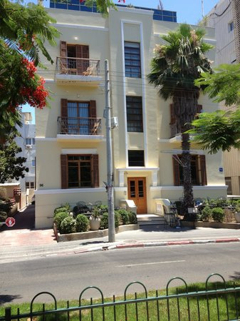 The Rothschild Hotel - Tel Aviv's Finest : Front of Hotel