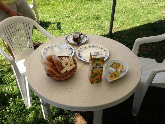 Relais il Frantoio: La colazione