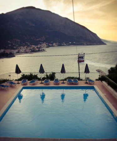 seaview from the swimming pool