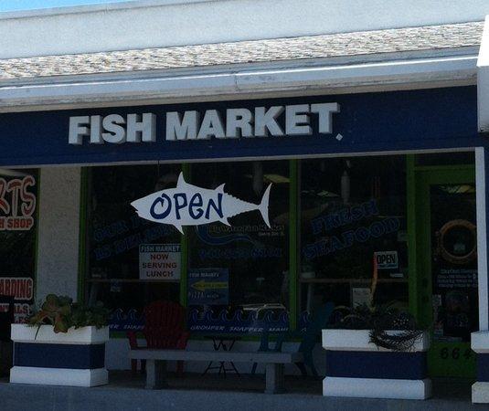 Big water fish market sarasota menu prices for Sarasota fish restaurants