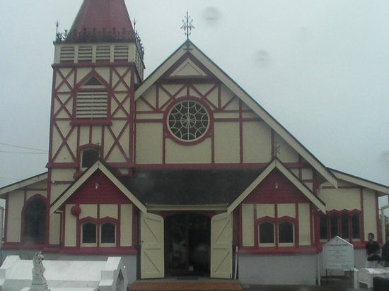 St. Faith's Anglican Church: St. Faith's Church a MUST see in Ohinemutu Rotorua NZ