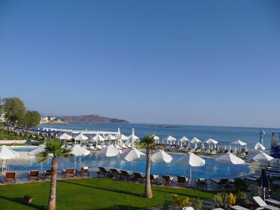 TUI SENSIMAR KALLISTON Resort & Spa by ATLANTICA: View from our room