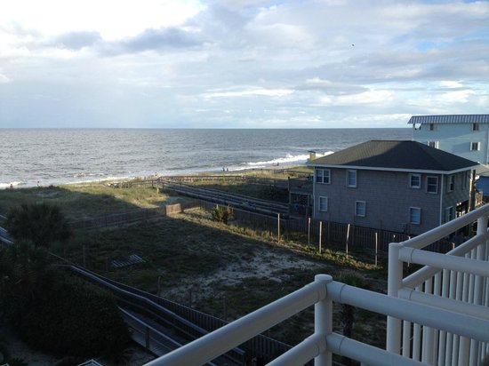 Courtyard by Marriott Carolina Beach: View from 3rd floor room