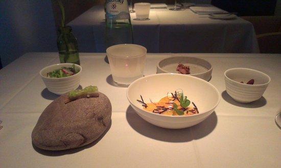Hotel niXe Binz Restaurant: Amuse Gueule in der Nixe