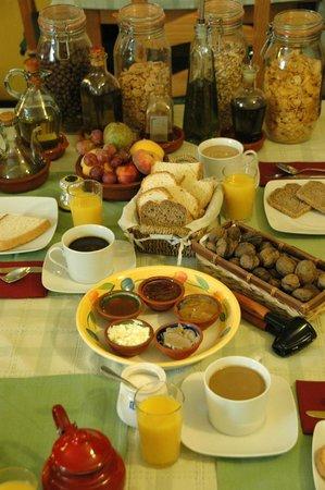 La Posada de San Marcos: Our homemade breakfast