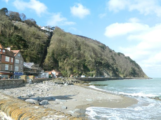 Lynton and Lynmouth Cliff Railway: widok