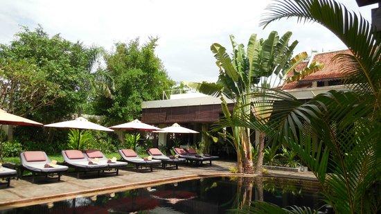 The SAMAR Villa & Spa Resort: jardin pool