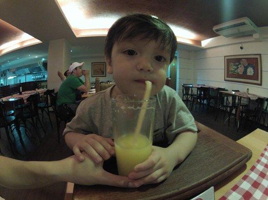 O Capo Restaurant : Excelente lugar para ir com crianças.