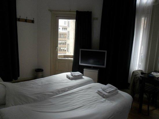 City Hotel: literie confortable