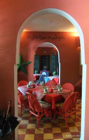 Fez Cafe at Le Jardin Des Biehn: le Fez Café, en intérieur