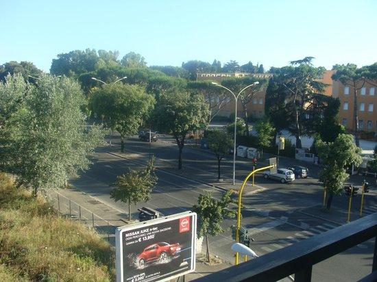 Hotel Pulitzer Roma: vue de la chambre