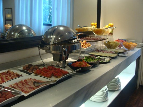 Hotel Pulitzer Roma: Petit déjeuner
