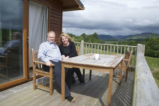 Lochaber Lodges: a room with a view