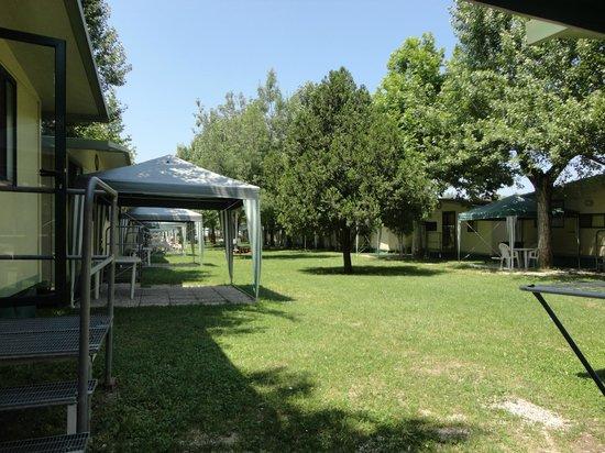 Campeggio Gasparina : Casamobile - vista dal gazebo