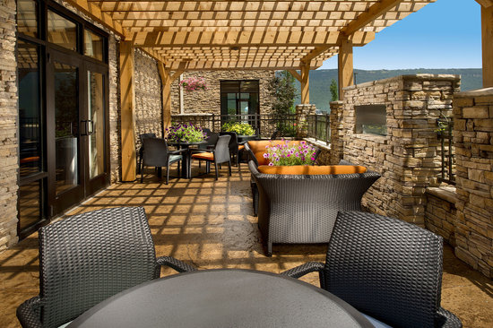 Hampton Inn Chattanooga West/Lookout Mountain : Patio