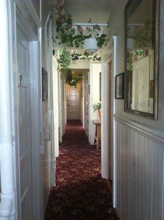 San Remo Hotel: hallway